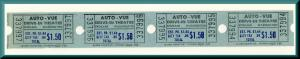 Four Auto-Vue Drive-In Movie Theatre Tickets, Spokane, Washington/WA