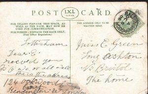 Genealogy Postcard - Family History - Green - Long Ashton - Nr Bristol  BH5272
