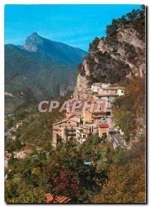 Postcard Modern Touet sur Var AM This picturesque village