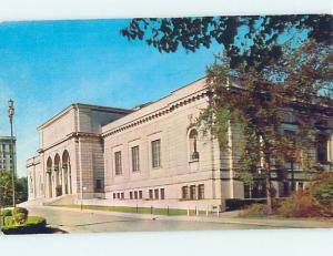 Unused Pre-1980 MUSEUM SCENE Detroit Michigan MI hs9731