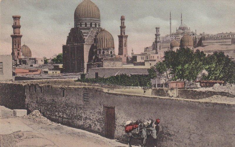 CAIRO, Egypt, 1900-1910s; Tombs Of The Manelucks
