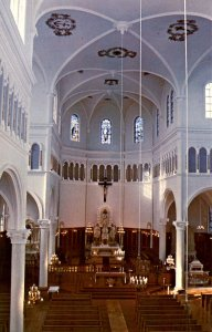 Canada - Nova Scotia, Church Point. St. Mary's Church, Interior