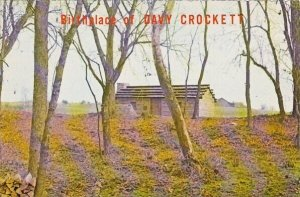 Birthplace Of Davy Crockett Limestone Tennessee