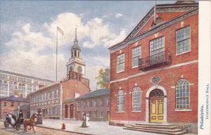 TUCK #2258, PHILADELPHIA, Pennsylvania, Independence Hall, PU-1908