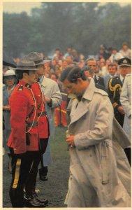 Charles and Diana in Canada Halifax Nova Scotia Postcard