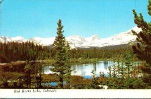Colorado Red Rocks Lake
