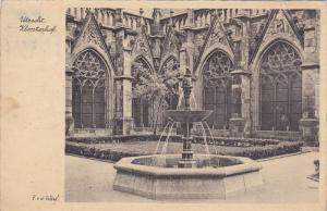 UTRECHT, Utrecht, Netherlands, PU-1946; Kloosterhof, Fountain