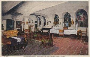 RIVERSIDE, California, 1900-1910's; Glenwood Mission Inn, The Refectorio
