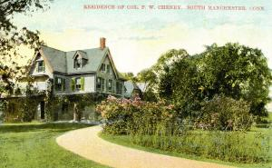 CT - South Manchester. Residence of Colonel F. W. Cheney