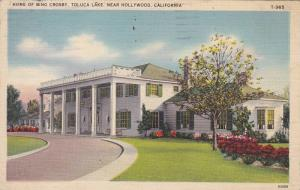 Bing Crosby's Home, Toluca Lake, Hollywood, California, 1930-40s