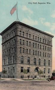SUPERIOR , Wisconsin , 1900-10s ; City Hall