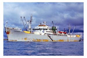 mc4503 - Liberian Cargo Ship - Alfaraj , built 1960 - photograph 6x4