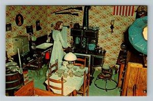 Minden NE- Nebraska, Kitchen of 1910, Pioneer Village, Chrome Postcard