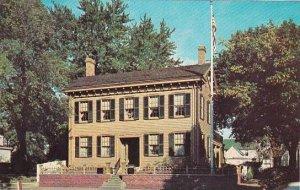 Illinois Springfield Abraham Lincolns Home Corner Eighth And Jackson
