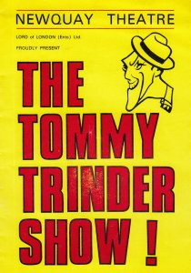The Tommy Trinder Show Newquay Theatre Programme