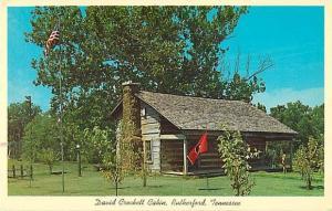 The David Crockett Cabin at Rutherdord Tennessee TN