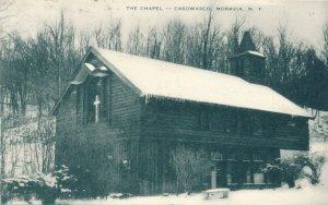 Chapel at Methodist Camp Casowasco on Owasco Lake Moravia NY, New York - pm 1952
