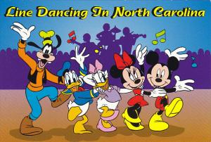 Disney Company Line Dancing In North Carolina