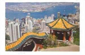 Hong Kong , China, 50-70s ; Panorama with Kowloon