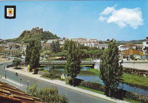 Portugal Leiria Partial View Of The Liz River