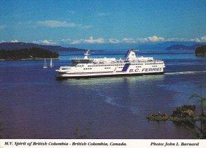 Canada Ferry M V Spirit Of British Columbia British Columbia Ferries