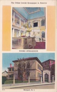 Rhode Island Newport Touro Synagogue Oldets Jewish Synagogue In America