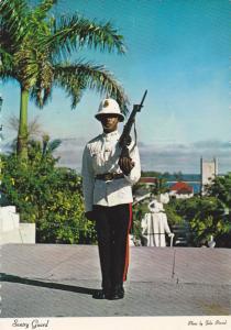 Police Guard, Nassau , Bahamas , 50-70s #2/2