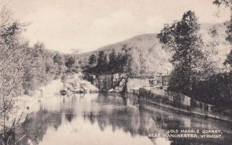MANCHESTER , Vermont , 1910-30s ; Old Quarry