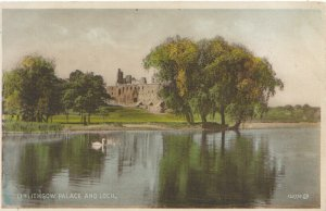 Scotland Postcard - Linlithgow Palace and Loch - West Lothian - Ref 12769A