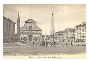 Firenze , ITALY , 00-10s ; Chiesa e Piazza di S. Maria Novella