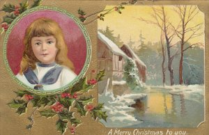 CHRISTMAS , 1911 ; Child portrait