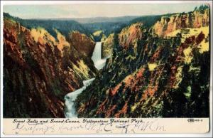 WY - Great Falls & Grand Canyon, Yellowstone Park