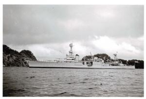 Postcard US Navy USS Houston Franklin D Roosevelts Presidential Cruise 1938 U79