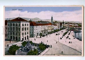 192062 Croatia SPLIT Vintage postcard