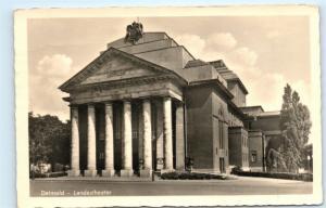 *Germany Detmold Landestheater Vintage Postcard C57