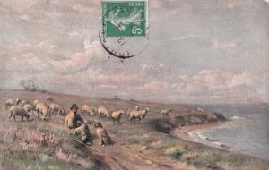 DER SCHAFER , 1900-10S ; TUCK 2737