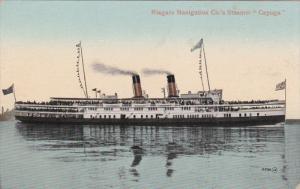 Niagara Navigation Company Steamer CAYUGA , Ontario , Canada , 00-10s Versi...