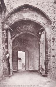 Entrance Gates , Carisbrooke Castle , I.O.W. , 00-10s