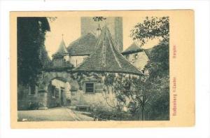 Rothenburg o/Tauber , Germany, 00-10s Burgtor