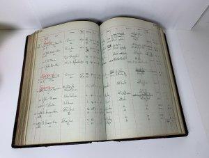 Sale Book Ledger 1930 1931 Grain Wholesaler Possibly From UK