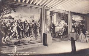 RP: Cuadros Murales Sobre, Terciopelo , Convento de Sta. Monica , Puebla, Mex...