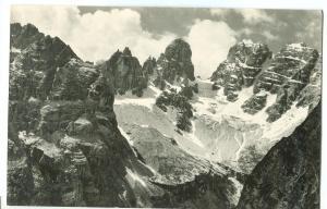 Italy, Monte Cristallo, e Piz Popera, Versante Nord Postcard