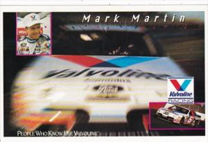 NASCAR Mark Martin Valvoline Racing