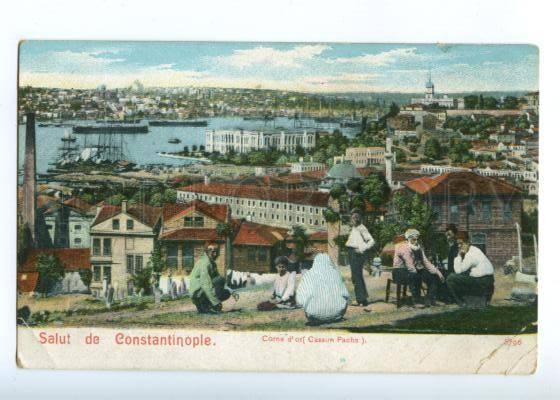 151673 Turkey SALUT de CONSTANTINOPLE Golden Horn Corne d'Or