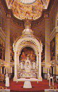 Wisconsin Milwaukee St Josaphat Basilica Main Altar and Sanctuary