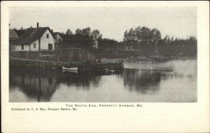 Prospect Harbor ME The Sound End c1910 Postcard