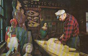 Connecticut Mystic Village Wood Carver
