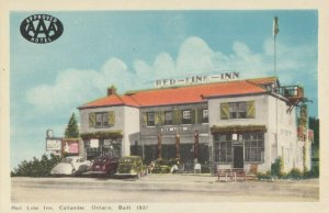 CALLANDER , Ontario , Canada , 1930s ; Red Line Inn