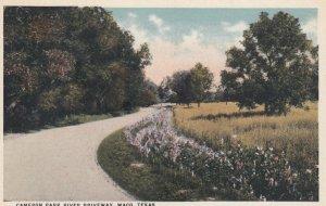 WACO , Texas , 1910s ; Cameron Park River Driveway