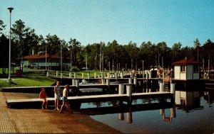 Maryland Worcester County Pocomoke River Shad Landing State Park Docks